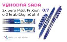 Pilot Sada 2x Pilot Frixion a 6 ks náplní 0,7mm