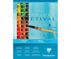 Clairefontaine Skicák na akvarel etival (200g/m2, 10 listů) a3