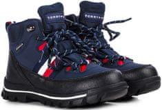 Tommy Hilfiger buty do kostki chłopięce T3B5-30968-0751800