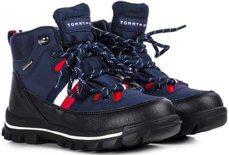 Tommy Hilfiger buty do kostki chłopięce T3B5-30968-0751800 30 niebieskie