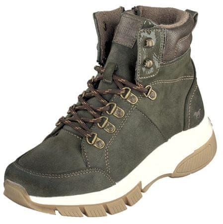 Mustang buty za kostkę damskie 1367-502-77 36 zielone