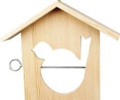 """Kraftika """"dokarmianie ptaków"""" dom do wykończenia 19x21 cm, gg 576240"""