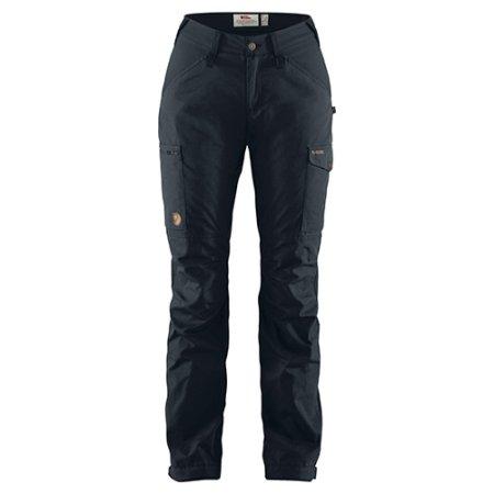 Fjällräven Kaipak Trousers Curved W, Dark Navy | 555 | 42