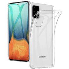 Goospery Jelly ovitek za Samsung Galaxy A71 A715, silikonski, prozoren