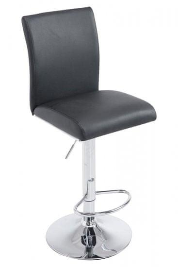 BHM Germany Barová stolička Köln, čierna