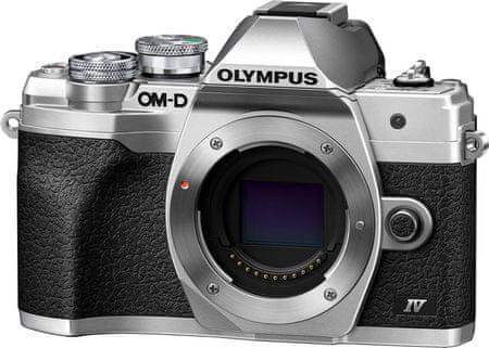 OLYMPUS E-M10 Mark IV Body Silver