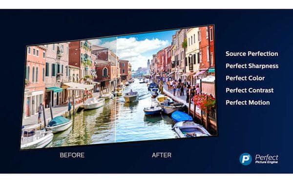 Silnik Philips P5, Ultra HD 4K, detale, kontrast, kolory, ruch