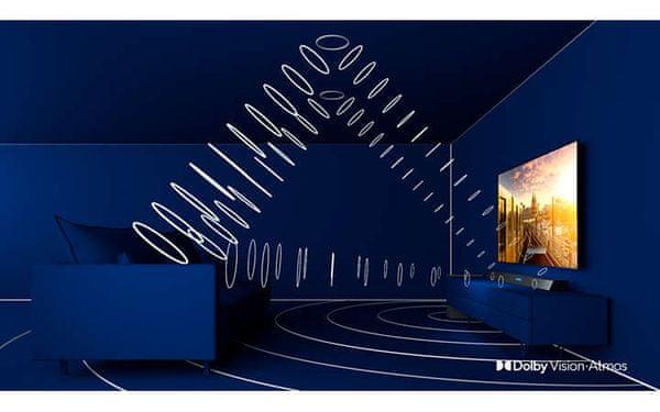 HDR Dolby Vision Dolby Atmos wysoka jakość dźwięku i obrazu