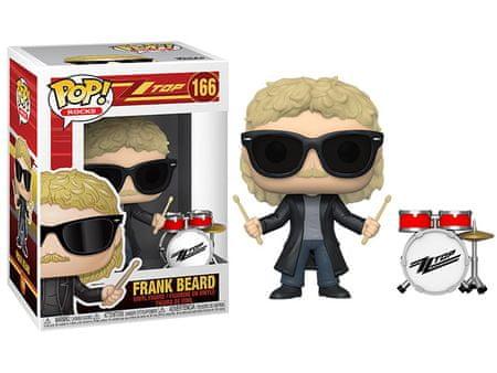 Funko POP! ZZ Top figurica, Frank Beard #166