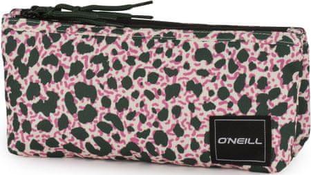 O'Neill pernica, 35 x 35 x 8 cm, mala, prazna, leopard, roza