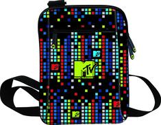 MTV torba, 18 x 25 x 2 cm, naramna, raznobarvna