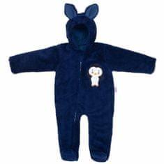 Carero Zimní dětská kombinéza New Baby Penguin tmavě modrá