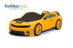 Futuka Kids Postýlka auto EVO CAMARO, Spodní světlo, Měkké čelo