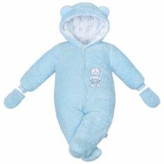 Carero Zimní kombinézka New Baby Nice Bear modrá