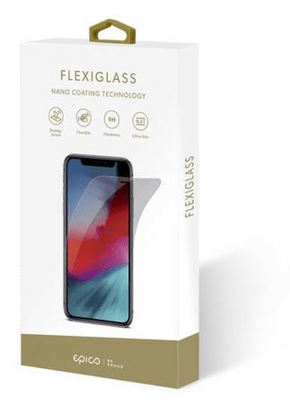 EPICO Flexiglass zaščitno steklo za iPhone 12 (5,4'')