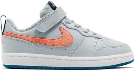 Nike BQ5451-009 Court Borough Low 2 otroški čevlji, sivi, 28