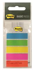 3M Post-it samolepilni označevalci, mini, 5 barv (683-5EE)