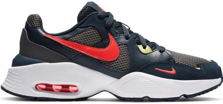 Nike dekliška obutev Air Max Fusion CJ3824-400, 35,5, modra