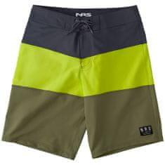 NRS Benny moške kopalne hlače, barva limete, olive