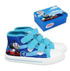 """SETINO Fiú cipők """"Thomas a gőzmozdony"""" - világoskék"""