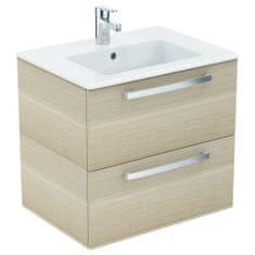 Ideal Standard Ideal Standard Tempo SET - Umývadlo 60 cm + skrinka, 2 zásuvky, dub pieskový K2979OS
