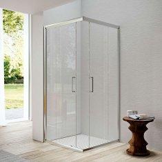 Glass Glass 1989 Isy - posuvné dvere, rohový vstup pre šírku vaničky 90 cm, GEX0004T500