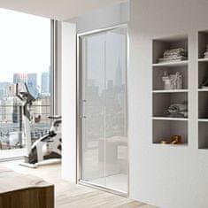 Glass Glass 1989 Isy - posuvné dvere do niky alebo pre kombináciu s bočnou stenou, 120 cm, GEO1007T500
