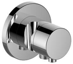 Keuco Keuco Ixmo - Dvojcestný prepínací ventil s okrúhľou rozetou a s napojením hadice a držiakom sprchy, chróm 59556011201