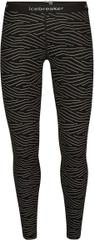 Icebreaker ženske pajkice 200 Oasis Leggings Napasoq Lines 105220