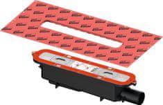 Tece TECEdrainprofile Sifón, s bočným odpadom DN50, montážna výška 95mm, 673002