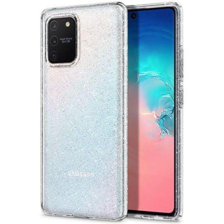 Spigen Liquid Crystal silikonski ovitek za Samsung Galaxy S10 Lite, pregleden