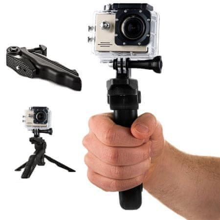 MG Hand Holder Grip mini tartó markolat állvánnyal sport kamerához GoPro / SJCAM