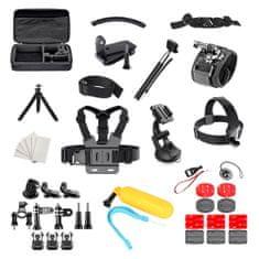 MG Set 50in1 set upevňovacieho príslušenstva pre GoPro SJCAM športové kamery