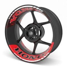 M-Style  dvoudílné polepy na kola HONDA