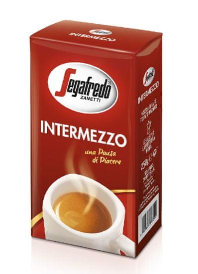 Segafredo Zanetti Intermezzo 250 g mletá