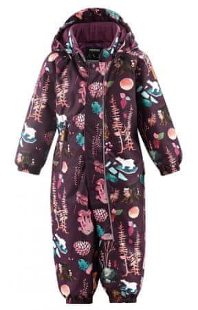 Reima Puhuri dekliški zimski kombinezon, vijoličen, 98
