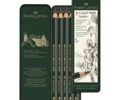 Faber-Castell Sada grafitových tužek castell 9000 jumbo (5ks)