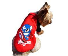 Brunbo Svetr mikina - zimní oblečky pro malé psy a kočky oblečení na zimu super hrdina