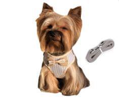 Brunbo Vesta pro psy a kočky, nastavitelná s vodítkem