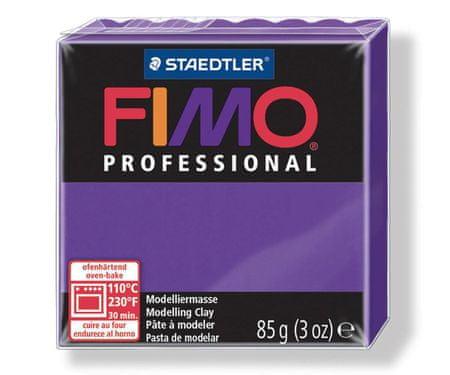 Kraftika Fimo szakmai 85g lila, díszdobozban, agyag bemutató