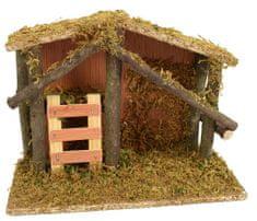 DUE ESSE szopka bożonarodzeniowa drewniana 22 cm