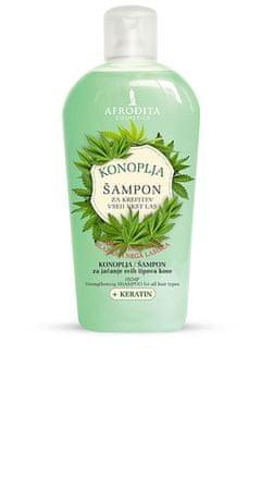 Kozmetika Afrodita šampon za lase, konoplja, 1000 ml