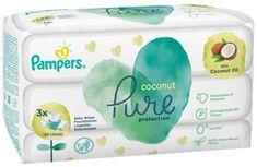 Pampers chusteczki nawilżane dla dzieci Coconut Pure 3x 42szt.