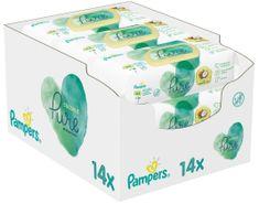 Pampers Detské Čistiace Obrúsky Coconut Pure 14x 42 ks