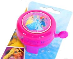 Volare Detský zvonček na bicykel - Disney Princess