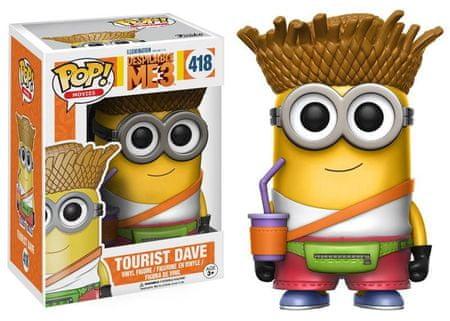 Funko POP! Despicable Me 3 figurica, Tourist Dave #418