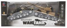 Teddies Tank RC 2ks 25cm tanková bitva
