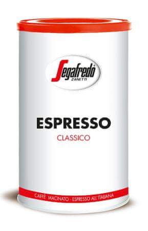 Segafredo Zanetti Classico Espresso 250 g őrölt, fémdoboz