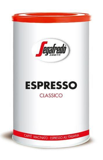 Segafredo Zanetti Classico Espresso 250 g mletá, plech