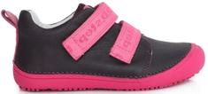 D-D-step dievčenská barefoot obuv 063-761B
